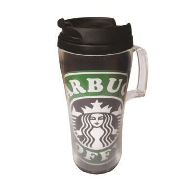 Picture of PREMIUM HANDLED THERMAL INSULATED MUG in Black